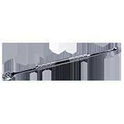 Угревыдавливатель с круглой (3,5 мм) и овальной (7 отв.) ложками