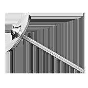 Диск-сфера для аппаратного педикюра D 23 мм
